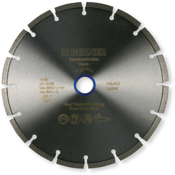 Disque diamant CONSTRUCTIONline Basic 300X25,4